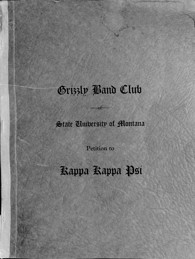 Tau chapter installed at the University of Montana
