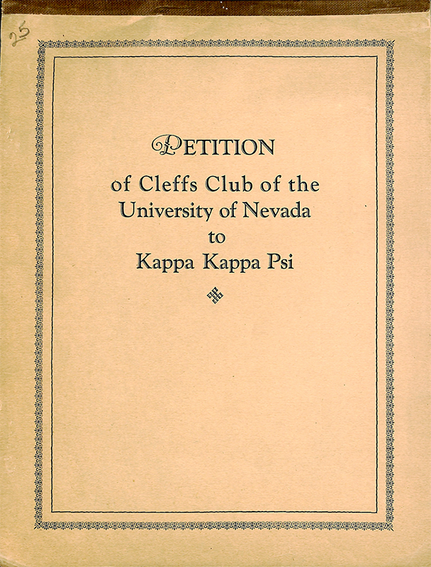 Alpha Alpha chapter installed at the University of Nevada