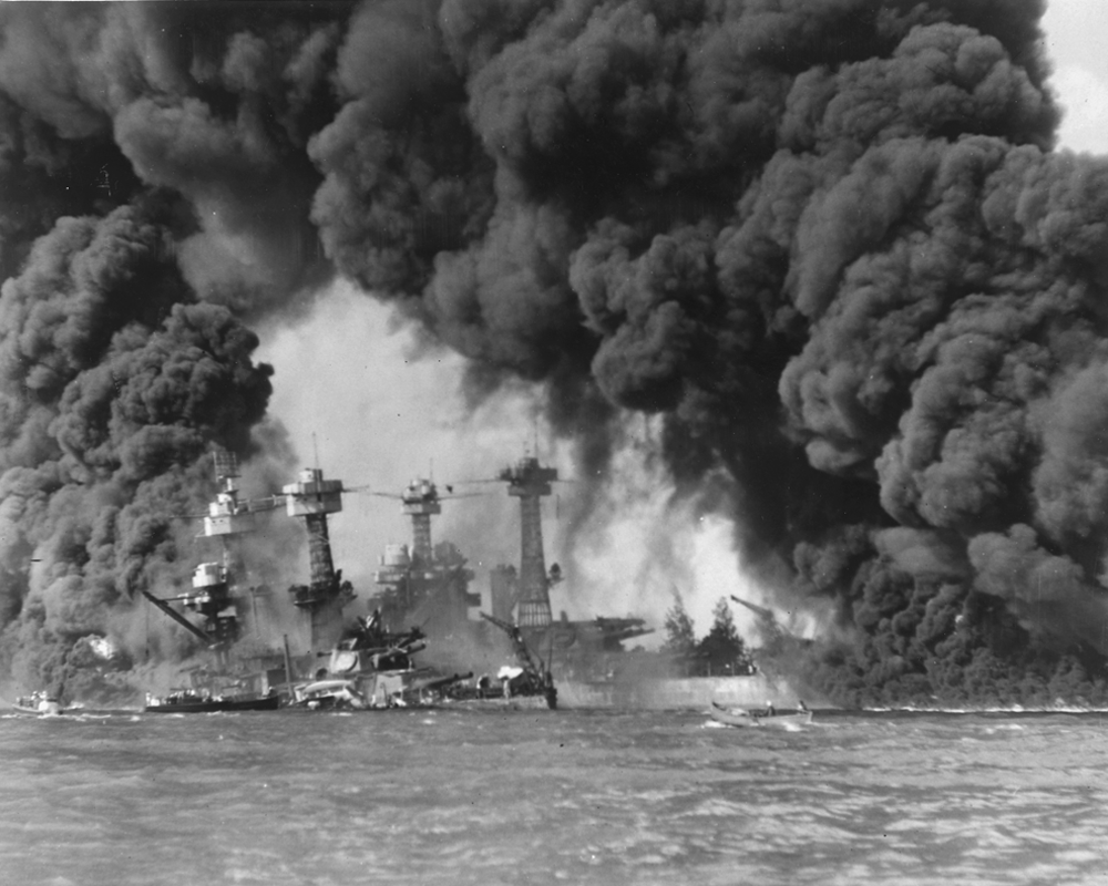 Bombing of Pearl Harbor / US entry into World War 2
