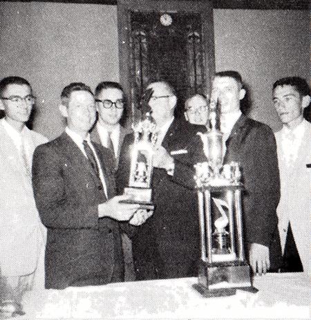 William A. Scroggs Leadership Trophy established
