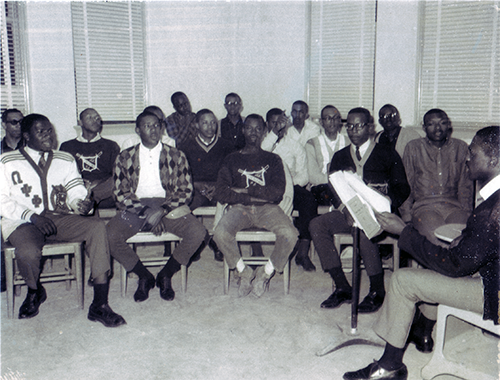 Delta Psi chapter installed at Prairie View A&M College of Texas