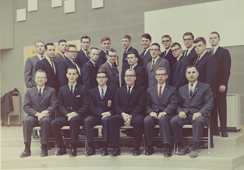 Delta Omega chapter installed at Ferris State College