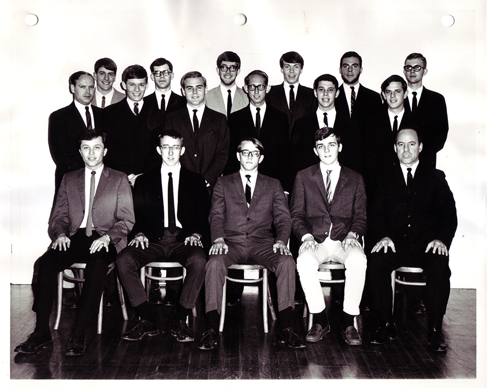 Beta Pi chapter re-installed at Drury College
