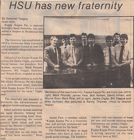 Theta Phi chapter installed at Henderson State University
