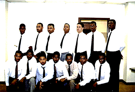 Iota Theta chapter installed at Morehouse College