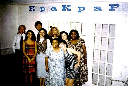 Kappa Zeta chapter installed at Wake Forest University