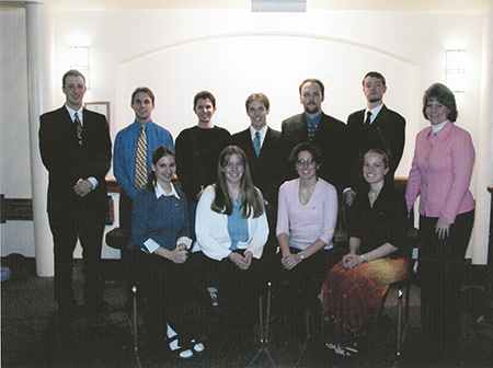 Kappa Chi chapter installed at Albion College