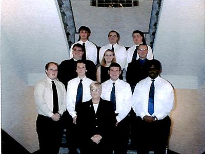 Lambda Mu chapter installed at East Tennessee State University