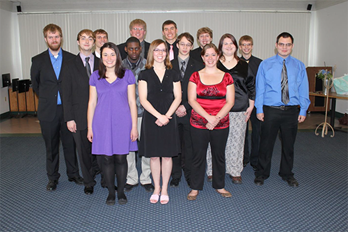 Delta Omega chapter re-installed at Ferris State University