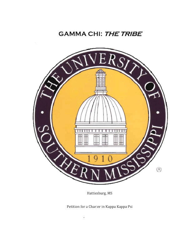 Gamma Chi chapter re-installed at the University of Southern Mississippi