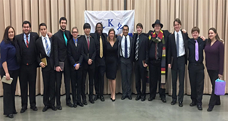 Nu Mu Chapter installed at Kennesaw State University