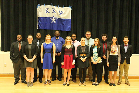 Nu Rho chapter installed at Old Dominion University
