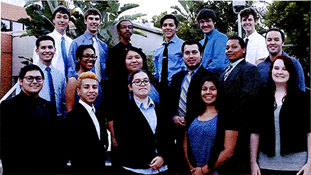 Nu Sigma Chapter installed at California State Polytechnic University, Pomona