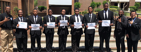 Theta Tau chapter re-installed at Fayetteville State University